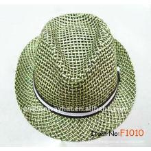 Chapeau promotionnel de chapeau en papier pour chapeau d'été portant chapeaux de chapeau chapeaux en gros et chapeaux