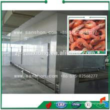 Machine de congélation de tunnel en Chine, Équipement de congélation de poisson et de fruits de mer