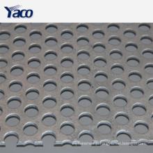 noise reduction perforated metal sheet plate on the wall