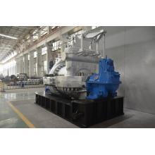 Efficacité de la turbine à contre-pression QNP