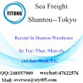 Shantou Port LCL Consolidation To Tokyo
