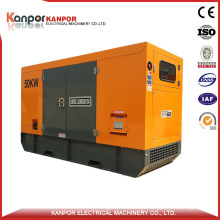 Sdec 58kw 72kVA (64kw 80kVA) Back up Diesel Generator with ATS