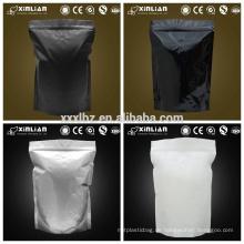Günstigeres Lager Blumenschloss Metall Silber Zip Lock Aluminiumfolie Tasche