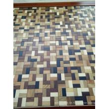 Mosaik-Art mischte luxuriösen hölzernen Parkett-Holz-Bodenbelag