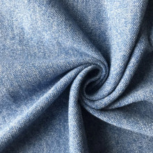 Cotton polyester fancy AB yarn knitted fabric