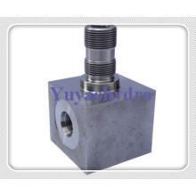 Acessórios hidráulicos especiais com bloco de junção de alta qualidade