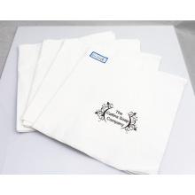 Serviettes de papier de 2ply / serviette de table de tissu avec le logo 33X33cm d'impression
