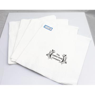 Бумага 2ply салфетки/ткани салфетки с логотипом печать 33X33cm