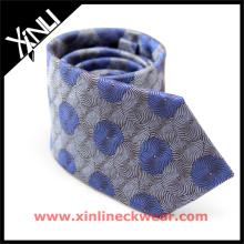Corbatas tejidas jacquar de seda del diseñador al por mayor italiano para hombre