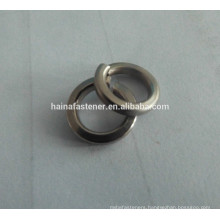 stainless steel spring washers, spring lock washers, fastener spring washers from Jiaxing suppiler