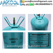 Air Conditioner refrigerant gas r507 11.3kg 25lbs