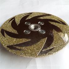 Korea quality electroplated diamond cutting disc stone saw blade