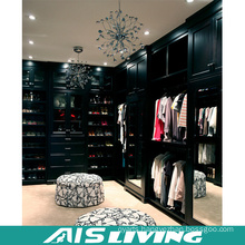 Modern Solid Wood L-Shape Wardrobe Closet (AIS-W364)