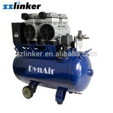 Compresseur d'air dentaire sans huile Pièces de rechange Poids de la sécheuse d'air 68 kg
