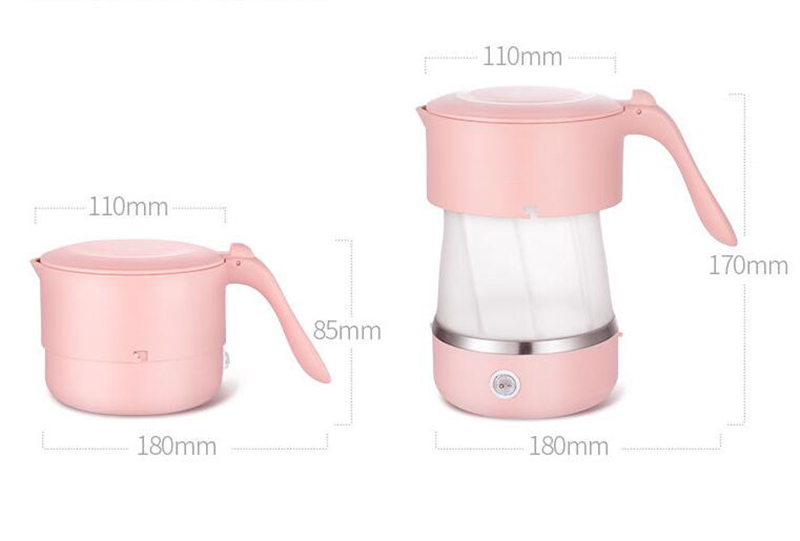 Electric Portable Folding Travel Water Kettle