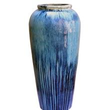 Durable Color Glazed Round Planters Pot For Garden
