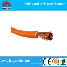 Fabrik Preis High Qulaity 600 / 1000V CCA / Kupfer Strander Leiter / Gummi Schweißen Kabel