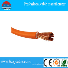 Высокая цена фабрики Qulaity 600 / 1000V CCA / медный проводник / резиновый кабель заварки проводника