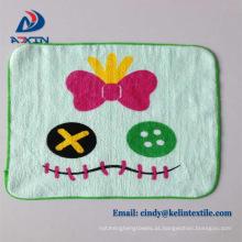 Crianças dos desenhos animados toalha de mão de algodão como um presente