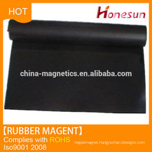 flexible and soft magnetic rubber mat China supplier