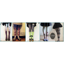 2016 fashion new design tattoo stocking tube for body and sex office lady