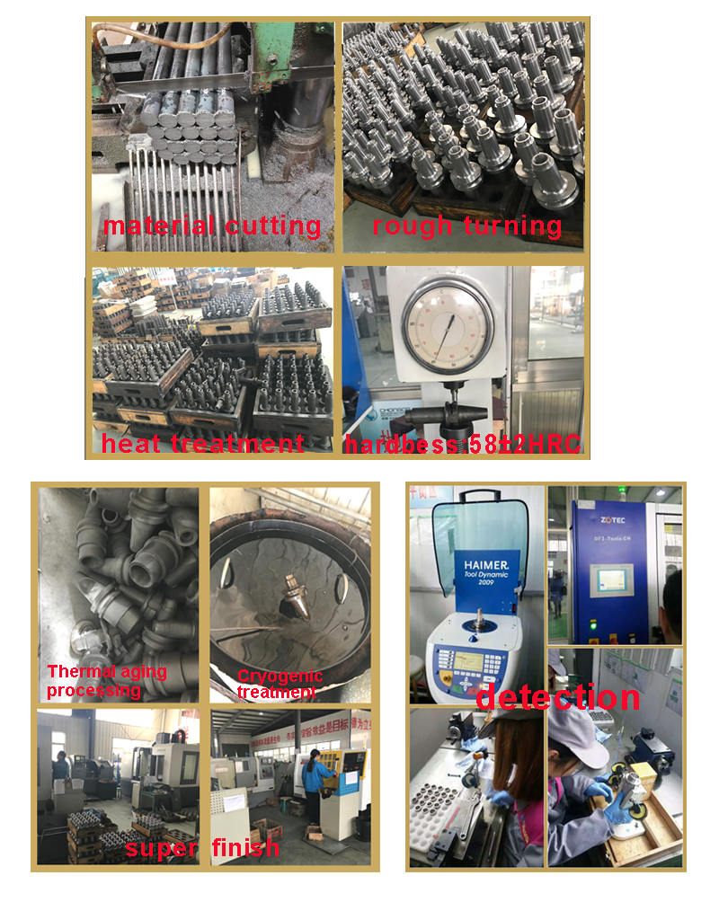 The Production Process Of BT Collet Chuck