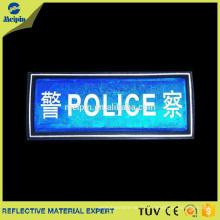 PVC-reflektierende Sicherheitspatches für Bekleidungszubehör