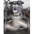 Запорный клапан с сильфонным уплотнением из литой стали