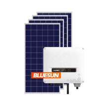 Bluesun grid tie solar system 5kw 8kw 10kw on grid solar system solar on grid power system 10kw