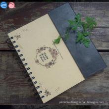 Stationery Factory Offer 24k Magnet Spiral Notebook (XL-24K-CKX-01)