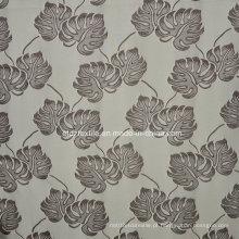 Popular Jacquard Círculo Flower Design Janela Cortina