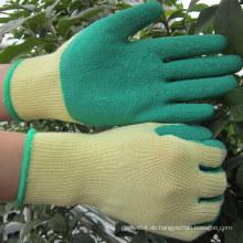 Palme beschichtete Latex Handschuhe Garten Rose Handschuhe Arbeitshandschuh