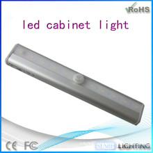 Современный свет шкафа кухни, датчик движения водить свет кабинета
