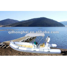 NEW fiberglass hull RIB520C boat with CE