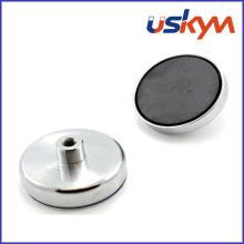 Aimant magnétique Pot Pot de ferrite magnétique (P-006)