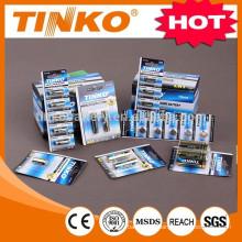 OEM super alkaline battery LR20 2pcs/blister AA/AAA/C/D/9V/23A/27A
