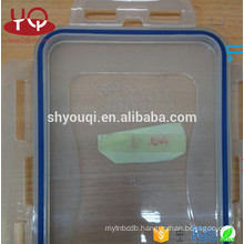 Rubber o Ring for Plastic fresh Lunch box container Food grade colored silicone rings seals strip