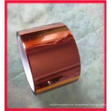 Cinta de poliimida Cinta de kapton para aislamiento del motor, cubierta de estaño de soldadura de circuitos impresos, bobina de bobina de transformador, bobina fija del motor y aislamiento exterior