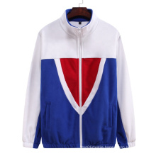 2021 Oversized  Autumn New Large Size Men's Loose  Color Matching Casual Collar Small Men's plus-size hoodies