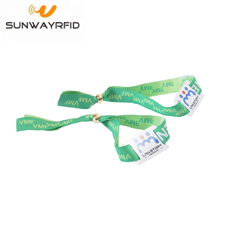 rfid fabric wristbands
