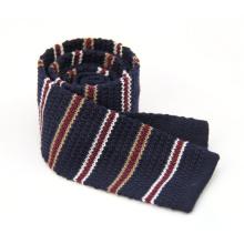 Entrega rápida personalizado diseño jacquard estilo punto corbata