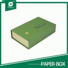 Elegante caja de té personalizada de papel de impresión para el embalaje de té