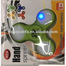 Novelty Design Kid's Toy LED Cool Relieve Stress Fidget Hand Spinner