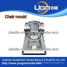 Moldes de plástico de alta precisão fabricante fábrica de moldes de cadeira de plástico doméstico