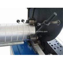 Máquina de duto flexível de alumínio