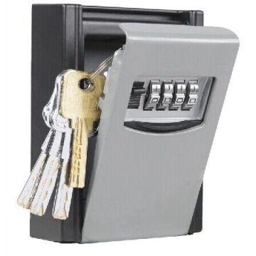 Portable 4-digit Combination Key Box Storage Keys