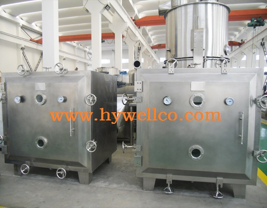 Low Temperature Vacuum Dryers