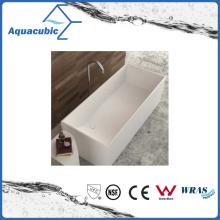 Bathroom Square Solid Surface Freestanding Bathtub (AB6545)