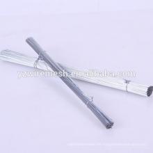 China Fabrik 18 Guage Galvanisierte geschnittenen Eisen Draht