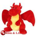 Plüsch Spielzeug roten Drachen